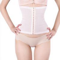 Wholesale tummy firming wrap - 2016 Newest Women Stomach Shapers Waist Shaper Body Shaper Women Underwear Seamless Weight Loss Stomach Wrap Tummy Control Belt