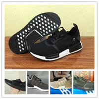 Wholesale Spring Japanese Fashion - New 2018 NMD Japanese Runner R1 running shoes men women NMD Runner warriorr Fashion Sport Real Boost Sneakers 36-45