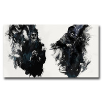 Wholesale video arts - FOOCAME Dishonored The Outsider Video Game Art Silk Poster Prints Home Wall Decor Painting 11x20 16x29 20x36 Inches