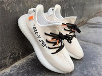 Wholesale Germany Art - OFF X Yeezus BOOST 350 V2 OW Jogging Shoes Kanye West Running Shoes Herzogenaurach Germany Sneakers