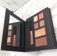 ingrosso nuova ombra di rossetto-New NYX Stockholm Lip Gloss blush ombretto collezione CITY set Makeup Palette ombretto rossetto evidenziatore Charming Cosmetics drop ship