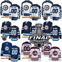 Wholesale Cupping Marks - 2018 New 29 Patrik Laine Men 26 Blake Wheeler 33 D B 55 Mark Scheifele Winnipeg Jets Stanley Cup Playoffs Finals Hockey Jerseys