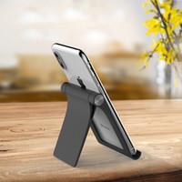 soporte de escritorio portátil al por mayor-Escritorio Universal Plegable Soporte para teléfono móvil Tablet PC Stent universal Stent perezoso portátil 4 colores Envío gratis