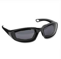 bisiklet sporu güneş gözlükleri toptan satış-Erkekler Kadınlar Sürüş Motosiklet Gözlük Spor Bisiklet Bisiklet Güneş Gözlükleri Rüzgar Geçirmez Sürme Motor Gözlük Bisiklet Açık Evrensel