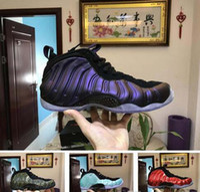 Wholesale high shine rhinestones - 2018 High Quality Legion Air Eggplant Basketball Shoes Penny Hardaway Shine Island Green University Red sport trainer mens Sneakers US 8-13