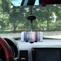 ленивая гора оптовых-автомобильный держатель кронштейн универсальный 360 градусов вращения ленивый нескользящий лобовое стекло автомобильный держатель кронштейн для GPS мобильного телефона