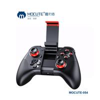 atualizações do telefone venda por atacado-Novo 050 Mocute Atualização 054 Bluetooth Gamepad Controlador Joystick PC Sem Fio PC Jogo VR Pad para PC Telefone Inteligente para VR