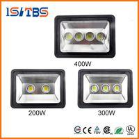 proyectores usados al por mayor-Super brillante 200W 300W 400W LED Floodlight Lámpara de luz de inundación LED impermeable Lámpara de luz LED de túnel LED lapms calle AC 85-265V