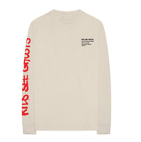 yaz için yüksek boyunlu üstler toptan satış-2018 Yaz Yeni Yüksek Sokak ÇOCUKLARı GÖRMEK HAYALLER Çin Peyzaj Boyama Tees Ekip Boyun Uzun Kollu T Shirt Kanye West Tops