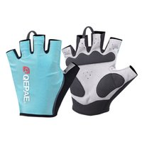 Wholesale Women Gel Cycling Gloves - Bike Gloves Gel Women Short Finger Cycling Gloves Half Finger Pad Lycra Guantes Ciclismo Breathable Outdoor Motorbike Bicycle