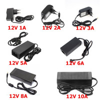 Wholesale adapter converter 1a 12v for sale - Group buy AC100V V to DC V A A A A A A lighting transformers Power Supply Adapter Converter Charger driver plug For LED Strip light