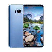Wholesale Real Email - Real 6.2inch Curved Goophone S8+ S8 Plus 1G 4GB MTK6580 Quad core Show Octa Core Show 4G 128GB 4G Lte Smartphon