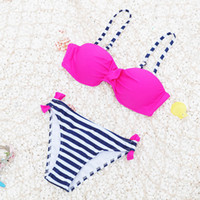 1d9d4bad8b Sexy bikini 2019 best selling new triangle split bikini candy color bikini  swimsuit spot factory direct sales