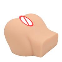 ingrosso bambole di sesso anale solido-Bambola piena del sesso del silicone 3D per gli uomini grande culo Vagina realistica Bambole reali di amore solido Masturbator maschio Giocattoli del sesso anale