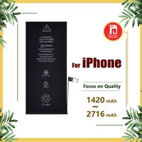 Wholesale cycles battery - Battery for apple iphone 4s 5g 5s 5c 6g 6s 6plus 7g 7 8 plus X Batteries Replacement Strong Flex 0 Cycle