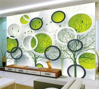 3d abstract circle photo wallpaper mural for living room tv background wall art home decor painting papel tapiz para paredes 3 d