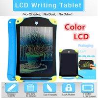 kinder farbiges zeichenbrett groihandel-Farbe LCD Schreibtablett Digital Portable 8,5 Zoll Zeichnung Tablet Handschrift Pads Elektronische Tablet Board für Erwachsene Kinder Kinder