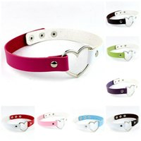 Wholesale match bracelet for sale - Group buy Love Bracelets Necklace Alloy Infinity Temperament Wild Double Heart Matched Leather Bracelets Bangles Jewelry for Women Charm Bracelet