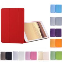 Wholesale ipad air folio case for sale - For New ipad ipad air Sleeping Wakup Ultral Slim Flip Leather Smart Cover Case For iPad mini