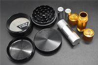 63mm space case grinder with Aluminum Pollen Press Tobacco Aluminum alloy tobacco grinder