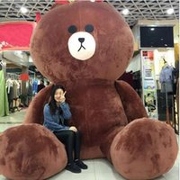 Wholesale christmas gift for girlfriend year for sale - Group buy 120cm Giant Cute Kawaii Teddy Bear Big cm For Girlfriend Plush Stuffed Animals Peluche Licorne Gift Peluche