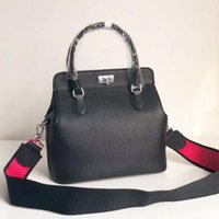 Wholesale toolbox hardware for sale - Group buy 3A Quality Toolbox cm Totes Bags Swift Calfskin pockets Adjustable Strap Silver Palladium Plated hardware Come with Dust Bag