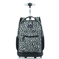 Wholesale Trunk Suitcase Luggage - Letrend Travel Duffle Cute Cartoon Cabin Capacity Backpack Student Rolling Luggage Trolley School Bag Children Carry On Trunk