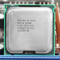 procesadores amd am2 al por mayor-Ordenador PC Procesador Intel Xeon E5440 SLBBJ EO de cuatro núcleos cerca de la CPU LGA775, funciona en la placa base LGA 775 sin necesidad de adaptador