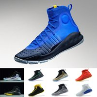 Wholesale Fun Fall - (With Box ) Stephen Curry 4 More fun more rings 4s IV Basketball Shoes Black white Championship Gold men Sports Sneakers US 7-12