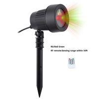 decoração ao ar livre luzes estrelas venda por atacado-Novo Laser Projetor de Luz Estrelas RGB RG Roating Paisagem luz do laser À Prova D 'Água Gramado Luz Decoração Da Parede Interior Ao Ar Livre