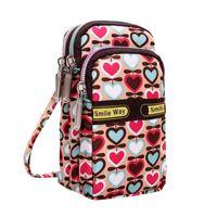 новый наручный телефон оптовых-Women's Fashion Printing Zipper Shoulder Bag Mini Wrist Purse  handbags women bags designer New coin phone Handbag #P