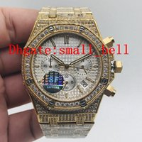 Wholesale imported products resale online - SF new products top quality BA men s stainless steel diamond watch imported VK quartz movement mm men s multi function diamond watch