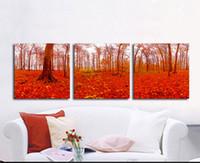 три картины оптовых-- Три простые картины-2-без рамы современный холст стены искусства для украшения дома и офиса,Живопись ,анималистическая живопись ,живопись рама