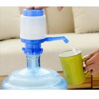 hand pump bottled water Canada - Practical Bottled Drinking Water Hand Press Manual Pump Dispenser Blue