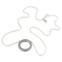 pandora china großhandel-Halsketten Silber Herz passt Pandora-Stil Charms 590514CZ-45 H8