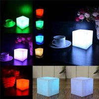 Wholesale pub tables buy cheap pub tables 2018 on sale in bulk wholesale pub tables for sale square led light portable glowing in the dark table lamp watchthetrailerfo