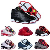 Wholesale top china shoes - [With Box]2016 New 13S China mens basketball shoes top quality outdoor sports shoes for men many colors US 8-13 Free Drop Shipping