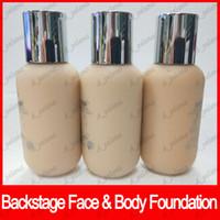 körpercreme marken großhandel-Berühmte Marke Gesicht Makupe Backstage Gesicht Körper Foundation Concealer BB Creme 50 ml 0OR 1CN 1CR Flüssige Foundation 3 Farben