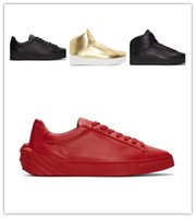Wholesale pretty shoes - NEW Luxury Casual Black White red Gold Designer skateboard shoes Comfort Pretty Mens Shoes Casual Leather Shoes Men Sneakers 38-46