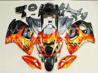 sarı siyah hayabusa fairing toptan satış-Yeni Sıcak ABS Plastik motosiklet Için Fairing Kitleri 100% Fit suzuki GSXR1300 Hayabusa 08 09 10 11 12 13 14 15 GSX-R1300 Kırmızı Sarı Siyah F9