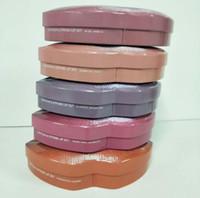ingrosso scatola grande rossetto-20 pz / HOT Beauty rossetto Big bocca lip gloss + lip liner set trucco rossetto 5 colori 3 pz / set con scatola di ferro di vendita al dettaglio