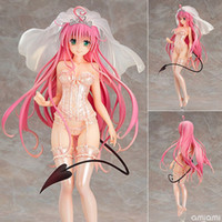 Wholesale toy factory love doll for sale - Group buy No Box cm Anime Max Factory To Love Ru Darkness LaLa Figure Sexy Toy Doll Collection Model Brinquedos Figurals Gift