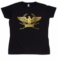 vetement femme achat en gros de-Tee shirt femme 2018 t-shirt Fashion Funny Clothing Casual Tee Shirts Spqr Légionnaire Romain Femme Tee shirts
