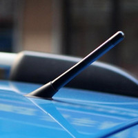 Wholesale vw antennas resale online - WRC Carbon Fiber Radio Car Antenna For Ford Focus VW Golf Mazda Chevrolet Cruze Peugeot Skoda Kia Opel
