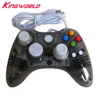 Wholesale joypad for computer - ONLY FOR PC USB Wired Game Controller LED Light Vibration Joystick Gamepad Joypad Computer NOT compatible for xbox 360
