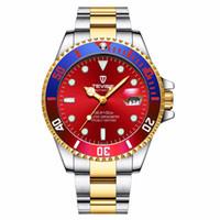 tevise роскошные мужчины оптовых-Tevise Brand Men Mechanical Watches Automatic Watch Famous Design Fashion  Gold Clock horloges Mannen Relogio Masculino