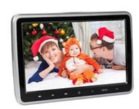 araba monitörleri gps toptan satış-10 Inç HDMI Monitörler HD Dijital LCD Ekran Araba Kafalık Monitör araba ses Çalar FM Kafalık araba DVD Oynatıcı Yılbaşı Hediyeleri