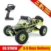 Wholesale rock rc - 1:12 RC cars 12428 High Speed Fast Race Cars Monster Truck 35mph Four-wheel Drive Rock Crawler Electric Remote Control Off-road Vehicle