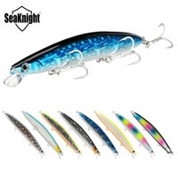Wholesale long minnow lures for sale - Group buy SeaKnight SK008 Minnow Fishing Lures Set g mm M Long Casting Minnow Big Floating Hard Bait Lure Fishing TackleY1883004