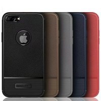 Wholesale Rugged Armor Case for Xiaomi x Huawei Mate proLitchi Grain Leather Wire Drawing Soft TPU